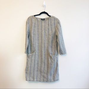 A.P.C. Striped Linen Dress